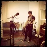 Ryan mit Gitarre